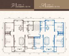 盛世城南区 128平方米 三室两厅 3楼  95万